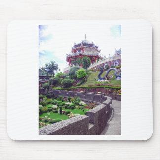 アジア道教徒の寺院 マウスパッド