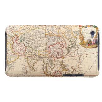 アジア5の地図 Case-Mate iPod TOUCH ケース