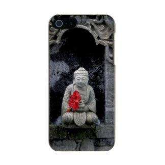 アジア、インドネシア、バリ島。 仏の神社 メタリックiPhone SE/5/5sケース