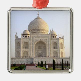アジア、インド、ウタール・パラデシュ、アグラ。 Taj 8 メタルオーナメント