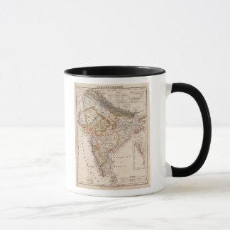 アジア、インド、バングラデシュ マグカップ