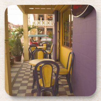 アジア、カンボジア、シェムリアップの喫茶店 コースター