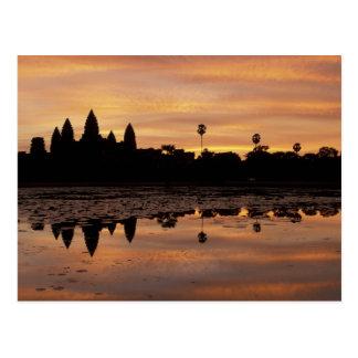アジア、カンボジア、シェムリアップ、アンコール・ワット(b.第12 ポストカード