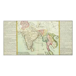 アジア、タイ ウッドウォールアート