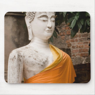 アジア、タイ、シャム、Ayutthayaの仏 マウスパッド