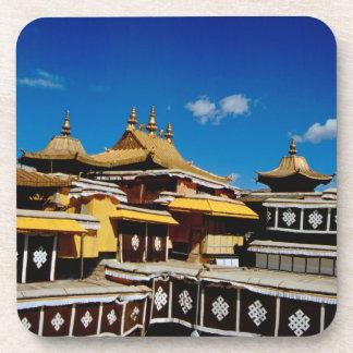アジア、チベット、ラサ、ポタラ宮の別名赤 コースター