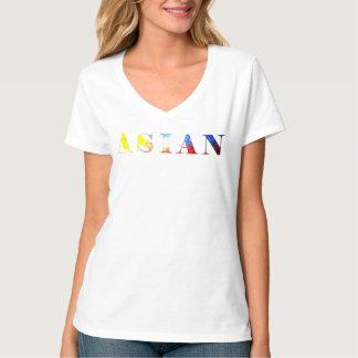 アジア-フィリピンの旗 Tシャツ