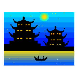 アジア ポストカード