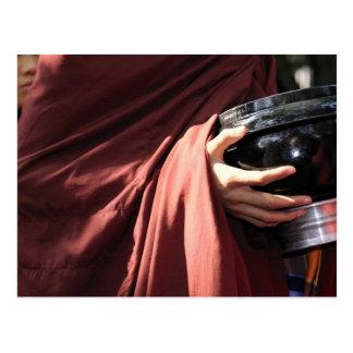アジア、ミャンマー(ビルマ)、マンダレイ。 初心者の修道士 ポストカード