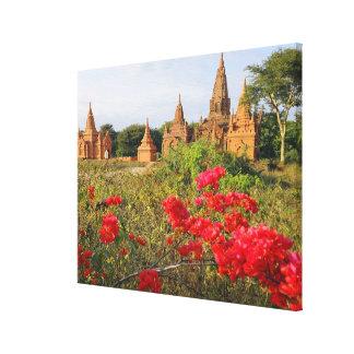 アジア、ミャンマー(ビルマ)、Bagan (異教徒)。 Bagan キャンバスプリント