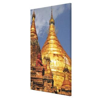 アジア、ミャンマー(ビルマ)、Bagan (異教徒)。 Dhamma キャンバスプリント