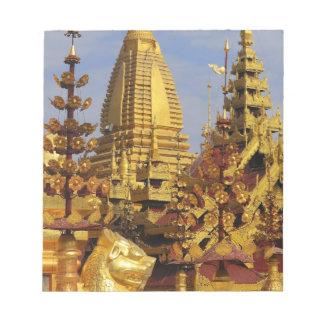 アジア、ミャンマー(ビルマ)、Bagan (異教徒)。 Shwe 3 ノートパッド