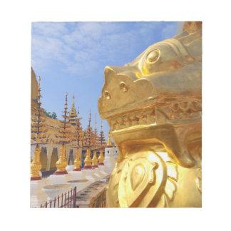 アジア、ミャンマー(ビルマ)、Bagan (異教徒)。 Shwe 4 ノートパッド