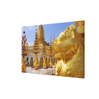 アジア、ミャンマー(ビルマ)、Bagan (異教徒)。 Shwe 6 キャンバスプリント