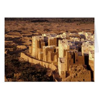 アジア、中東のイエメン、Shibamの共和国 カード