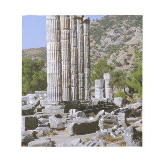 アジア、中東、トルコ、Ephesus。 寺院の ノートパッド