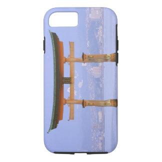 アジア、日本、広島。 Mivaiima。 Toriiのゲート iPhone 8/7ケース