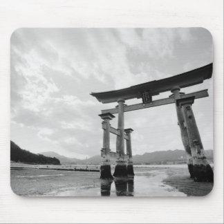 アジア、日本、Myajima。 Torriのゲート2 マウスパッド