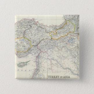 アジア、Transcaucasiaのトルコ 5.1cm 正方形バッジ