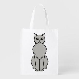 アジアBurmilla猫の漫画 エコバッグ