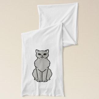 アジアBurmilla猫の漫画 スカーフ