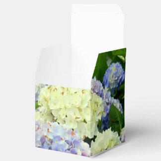 アジサイの組合せパーティの好意箱、正方形のスタイル フェイバーボックス