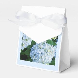 アジサイの結婚式の引き出物箱 フェイバーボックス
