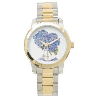 アジサイの腕時計 腕時計