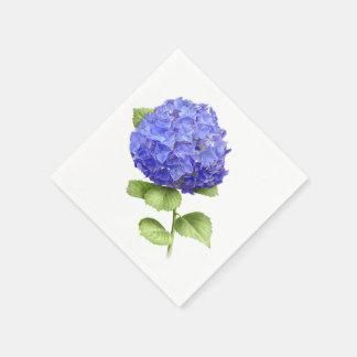アジサイの青の天国 スタンダードカクテルナプキン