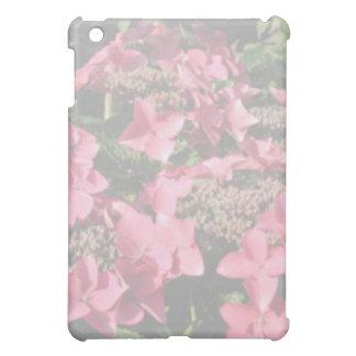 アジサイ。 ピンクの花。 柔らかいパステルカラー iPad MINIケース