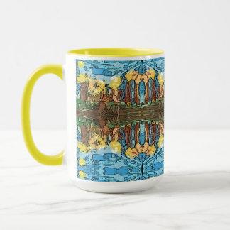 アステカで黄色い冒険 マグカップ
