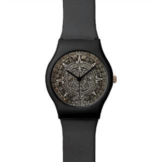 アステカなカレンダー 腕時計