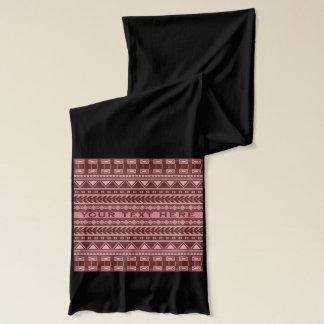 アステカなパターンカスタムのスカーフ スカーフ
