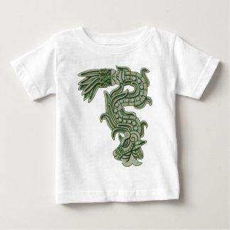 アステカなヒスイの蛇 ベビーTシャツ