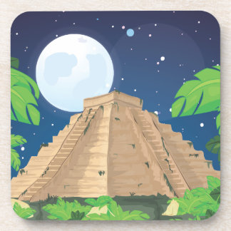 アステカなピラミッド コースター