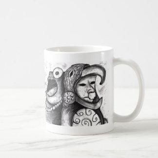 アステカなモンスター コーヒーマグカップ