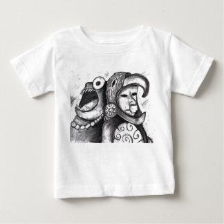 アステカなモンスター ベビーTシャツ