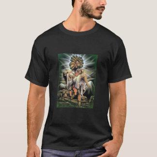 アステカな戦士及びプリンセス Tシャツ