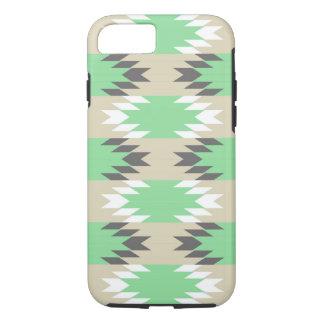 アステカな種族の緑のネイティブアメリカンのiPhone 7の箱 iPhone 8/7ケース