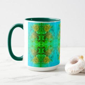 アステカな緑の冒険 マグカップ