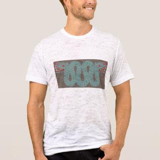 アステカな蛇の人の焼損のTシャツ Tシャツ