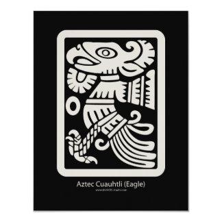 アステカなCuauhtli -ワシ(パテ)の招待状 カード