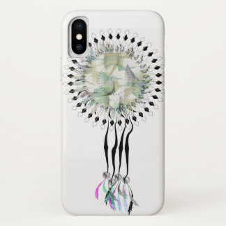 アステカなdreamcatcher iPhone x ケース