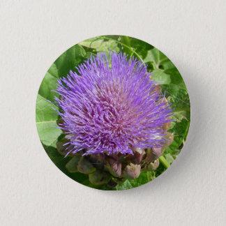 アスパラガスの花 5.7CM 丸型バッジ