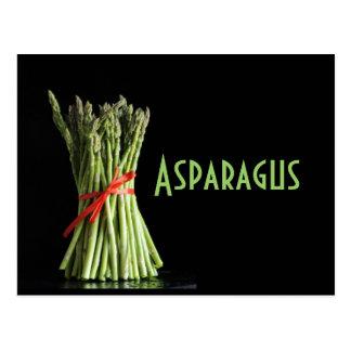 アスパラガス ポストカード