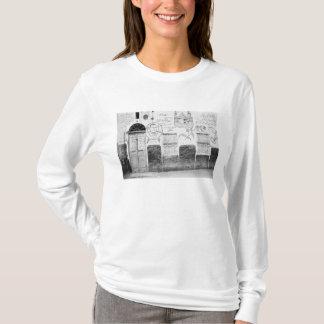 アスワンエジプトの飾られた家 Tシャツ