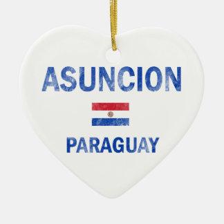 アスンシオンパラグアイのデザイン セラミックオーナメント