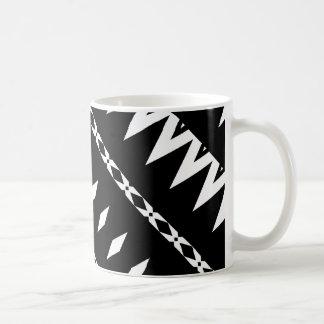 アズテック人-白黒マグ#4 コーヒーマグカップ