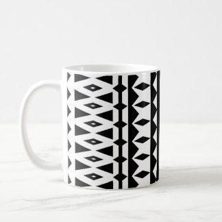 アズテック人-白黒マグ#5 コーヒーマグカップ