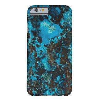アズライトの青く自然な治療の石造りの水晶 BARELY THERE iPhone 6 ケース